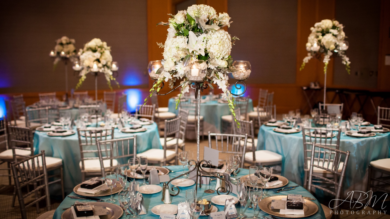 Elegant Wedding Venues In Downtown San Diego  - Tablescape